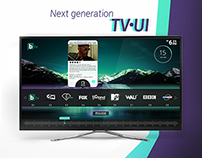 Next generation TV UI