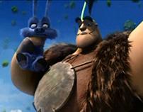 Animation Film Dubbing and Foley Effect