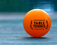 Logo Design - Table Tennis Saskatchewan