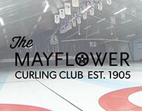 Logo Design - Mayflower Curling Club