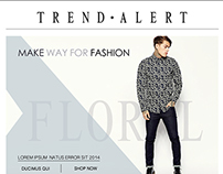 Page for Menswear fashion trend