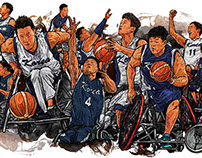 Artworks for documentaries WE PLAY BASKETBALL