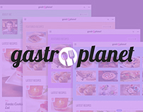 GastroPlanet - Food Blog