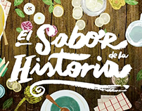 El sabor de la historia - Illustration & V. Development