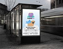 Funeral Zoo Identidad Corporativa y aplicaciones