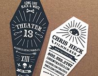 Theater13  |  Branding