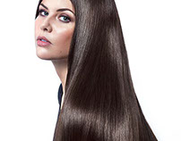 Hair retouching for 'Whitney Marie'