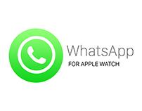 WhatsApp for Apple Watch