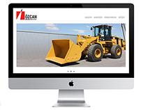 Özcan Makina İş Makinaları Kiralama Web Sitesi Yazılımı
