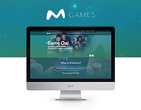 Games Service Logo & Website Design