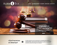 Altertax: Law firm web design
