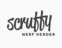 Scruffy Nerf Herder - Logo / Branding / Web Layout