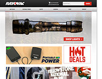 Website: Rayovac Redesign