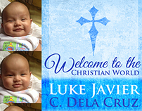 Baptism Invitation- Javier Dela Cruz