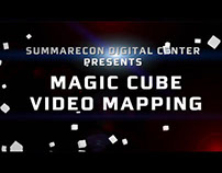MAGIC CUBE VIDEO MAPPING @ SDC Serpong