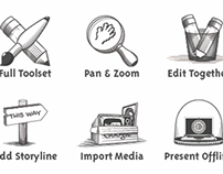 Illustrations & Symbols in Prezi
