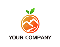 Logo House Orange for Sale