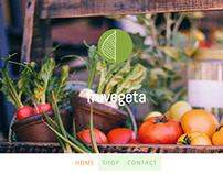 Website Design for Jimdo Certified (Fruvegeta)