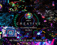 CREATIVE / VJ Loops Bundle