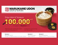 Marukame Udon Voucher