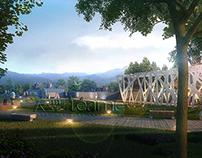Residential buildings & Landscape