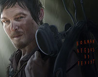 Norman Reedus or Daryl Dixon