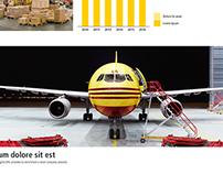 DHL Landingpage