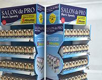 Salon de Pro Floor Display