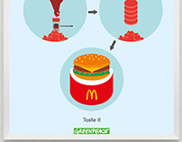 Greenpeace appeal to McDonalds