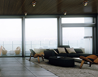 Penthouse Interior Design - Renderings