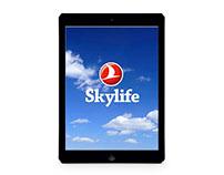 Skylife iPad App Custom Storefront
