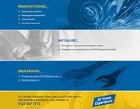 Industrial Doors - Web Design