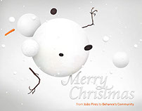 Merry Christmas Behance