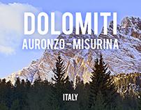 DOLOMITI - Auronzo/Misurina