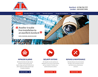 Security Alarm Company - Redesign Version 2