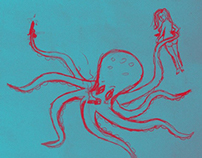 Seapunk octopus