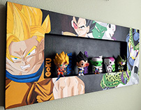 [Acrylic Painting] Dragon Ball Z Funko Shadow Display