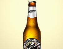 Gastropub Logo Design - Cheyenne Brewing Company