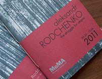Aleksandr Rodchenko Exhibition Guide