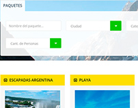 Wordpress - Agencia de Viajes