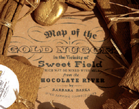 GOLD NUGGETS chocolate packaging