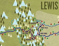 Lewis & Clark Expedition Map