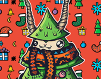 Merry Xmas doodle