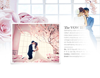 The VOW wedding house - Agency website