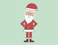 Dancing Santa {gif}