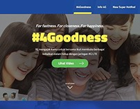 #4Goodness Website