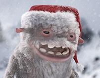 Yeti Christmas