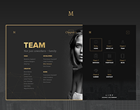 Marbles - Free PSD Theme
