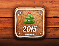Gingerbread iOS Icon