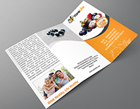 Yarelife Trifold Brochure